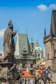 Charles bridge in Prague — Stock Photo