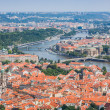 Stock Photo: Cityscape of Prague