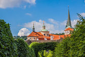 Cityscape of Prague in summer. — Stock Photo