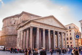 Pantheon in rome — Stock Photo