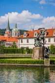 Prague in summer — Stock Photo
