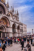 St. Marks Cathedral and square in Venice, Italy — Stock Photo