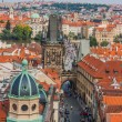 Prague city, one of the most beautiful city in Europe - Stock Photo