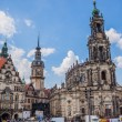 Panorama of Dresden, Germany. Cityscape. Skyline — Stock Photo
