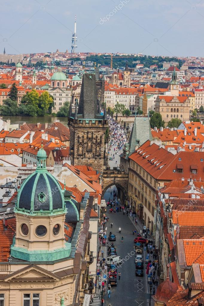 Prague City One Of The Most Beautiful City In Europe Stock Editorial Photo Bloodua 24551497