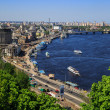 Panorama of Kiev, Ukraine. — Stock Photo
