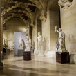 Statues at the Louvre, Paris, France — Foto Stock