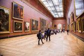 卢浮宫博物馆,巴黎,法国. — 图库照片