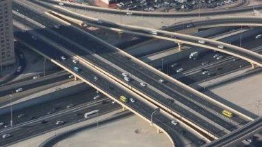 Dubai roundabout — Stock Video
