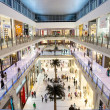 Interior View of Dubai Mall - world's largest shopping mall — Stock Photo #26216241