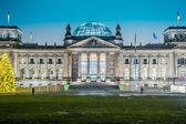 Reichstagu w berlinie — Zdjęcie stockowe