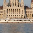 Hungarian Parliament building — Stock Video