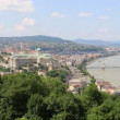 Budapest panorama cityscape, Hungary — Stock Video