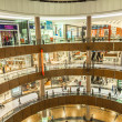 Interior View of Dubai Mall - world's largest shopping mall — 图库照片