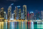 Dubai downtown. East, United Arab Emirates architecture — ストック写真