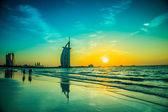 Burj Al Arab is a luxury 5 stars hotel — Stock Photo