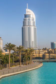 Address Hotel in the downtown Dubai area — ストック写真