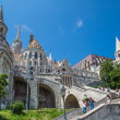 Eurtopa, Hungary, Budapest, Fishermen's Bastion. One of the land — Stok fotoğraf