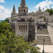 Eurtopa, Hungary, Budapest, Fishermen's Bastion. One of the land — Zdjęcie stockowe