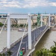 Elisabeth Bridge, Budapest, frontal view — Photo