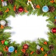 Christmas background. Eve framework — Foto Stock