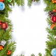 Christmas background. Eve framework — Stock Photo
