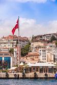 Bosporen, även känd som istanbul strait — Stockfoto