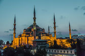 Sultan Ahmed Mosque (the Blue Mosque), Istanbul, Turkey — Stock Photo