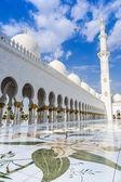 Abu dabi şeyh zayed beyaz camii — Stok fotoğraf