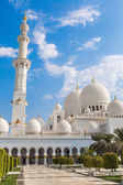 Sheikh Zayed Mosque in Middle East United Arab Emirates — Stock Photo