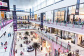 Interior View of Dubai Mall - world's largest shopping mall — Foto de Stock