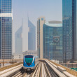 Dubai metro railway — Stock Photo #31591999