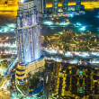 Address Hotel at night in the downtown Dubai area — Stock Photo