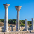 Ruins of ancient greek colony Khersones — Stock Photo #33024139