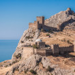 Ruins of The Genoa Fortress in Sudak — Stock Photo #33024479