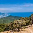 South part of Crimea peninsula, mountains Ai-Petri landscape. Uk — Stock Photo
