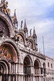 St. Marks Cathedral and square in Venice — Stock Photo