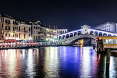 The Rialto bridge, Venice, Italy — Stock Photo