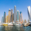 Dubai Marina cityscape — Stock Photo