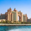 The Palm Hotel in Dubai — Stock Photo