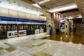 Metro v Dubaji terminálu v Dubaji — Stock fotografie