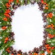 Stock Photo: Christmas background. Eve framework