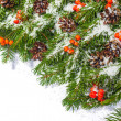 Christmas background. Eve framework — Stock Photo #33931245