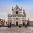 Stock Photo: Basilicdi SantCroce famous Franciscchurch on Florence