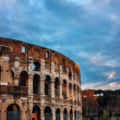Stock Photo: Iconic, legendary Coliseum of Rome, Italy