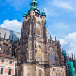 The west facade of St. Vitus Cathedral in Prague — Stock Photo #35289861