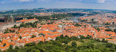 Cityscape of Prague city. Panoramic view — Stock Photo