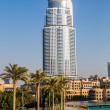 Address Hotel in the downtown Dubai — Stockfoto