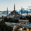 The Blue Mosque, (Sultanahmet Camii), Istanbul, Turkey — Stock Photo #35295943