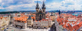 Prague, Old Town Square — Stock Photo